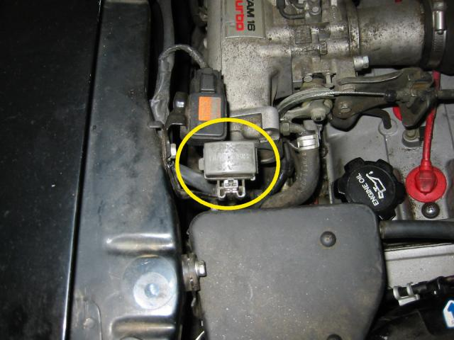 Diagnostic box location