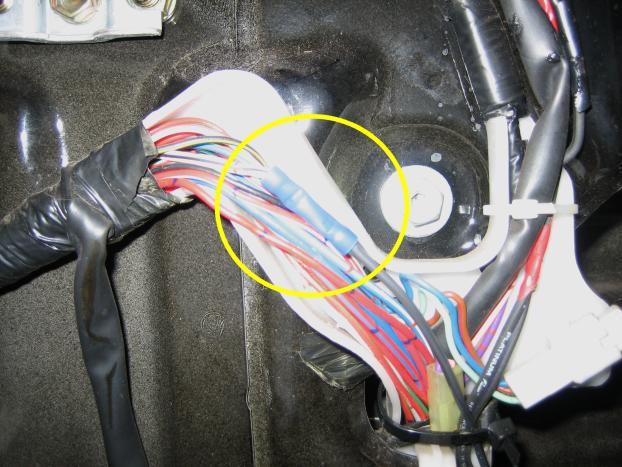 wire harness splice mr2 door wiring fix how to silverado trailer wiring harness splice