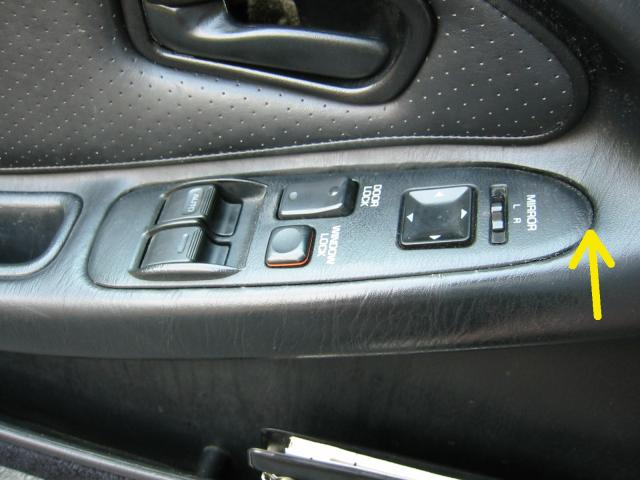 Door switch panel